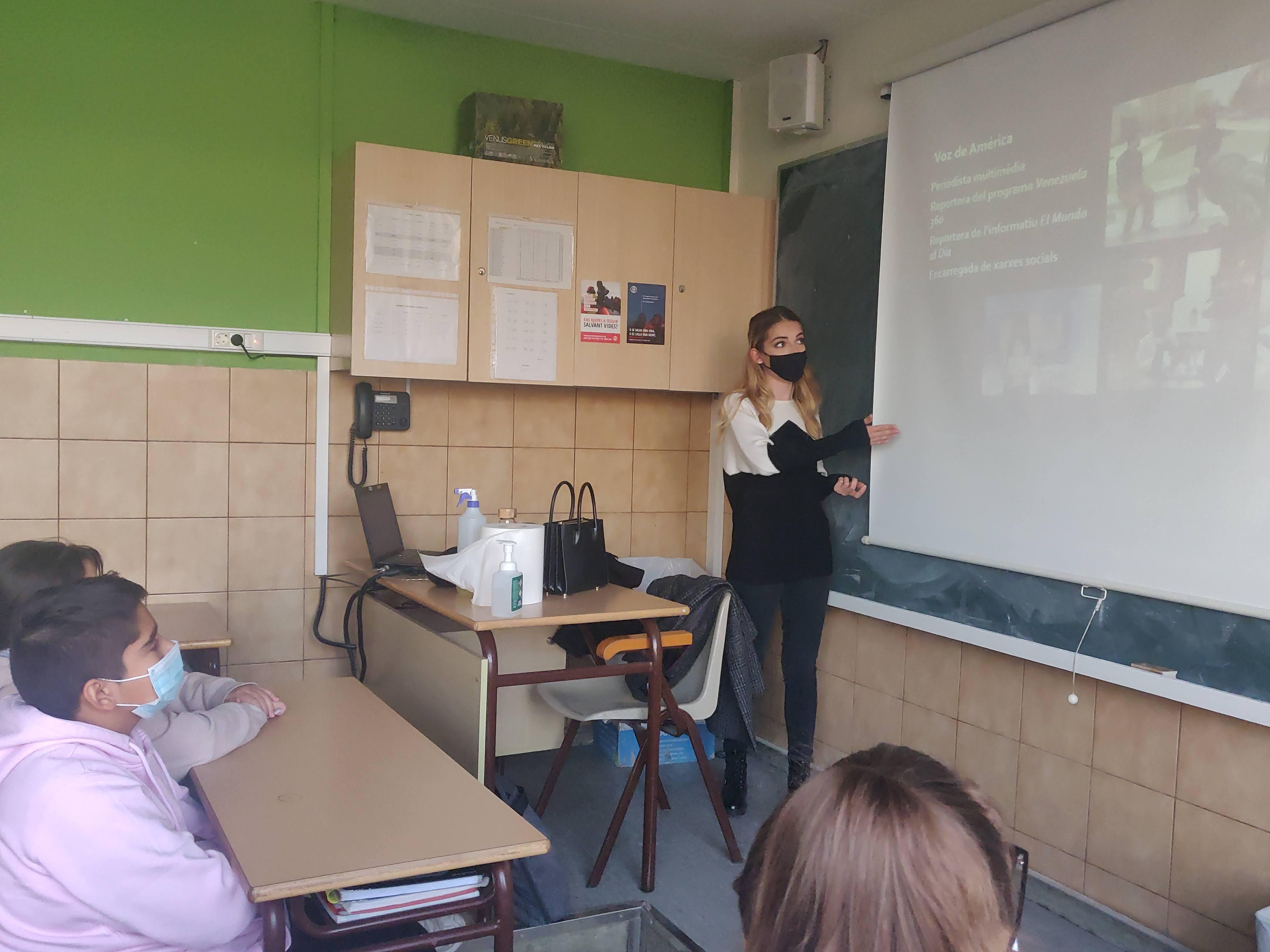 """L'exalumna Júlia Riera, convidada de luxe a """"Fem de Periodistes"""""""